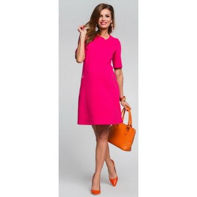 HappyMum Maternity Clothes - Dress Piccolo Berry