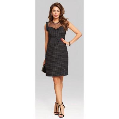 HappyMum Maternity Clothes - Dress Pin Up Black S