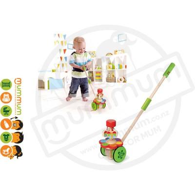 Hape Toddler Dancing Butterflies Push N Play