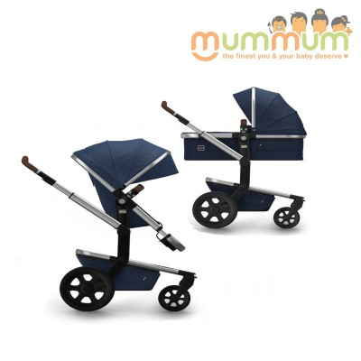 Joolz Day2  Earth Parrot Blue (Includes:Chassis, Bassinet, Seat, Storage basket)