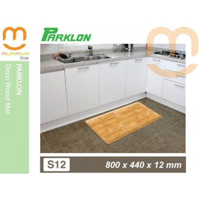 Parklon Floor Mat Deco Wood Ideal For Kicthen Etc