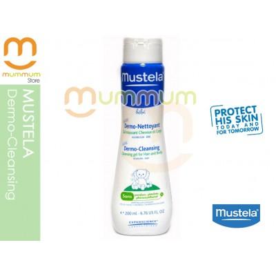 Mustela Dermo-cleansing Gel For Hair & Body 200ml