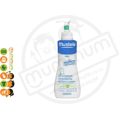 Mustela NewBorn Dermo Cleansing 500ml With Pump