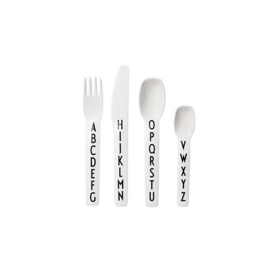 DESIGN LETTERS CUTLERY 4 PCS