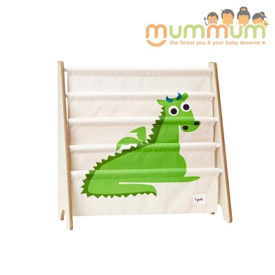 3 Sprouts Book Rack Dragon