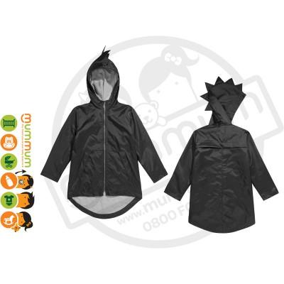 Kukukid Dino Hoodie Woven Black / Grey