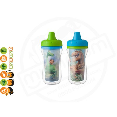 The First Years The Good Dinosaur Insulated Sippy Cups 2pk