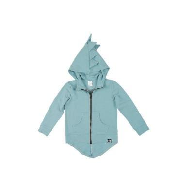 kukukid dino hoodie cotton light azure 86-92, 98-104, 110-116, 122-128