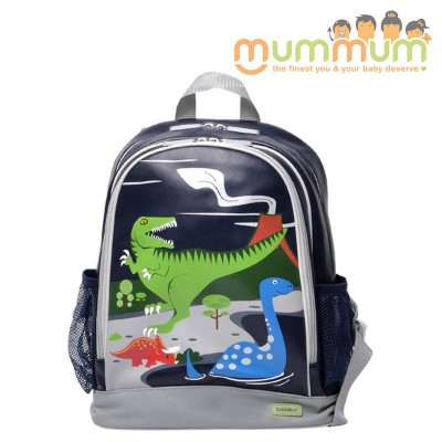 Bobble Art medium Size School backpack --Dinosaur