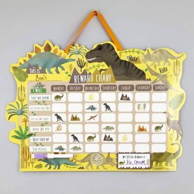 Floss & Rock Reward Chart - Dinosaur