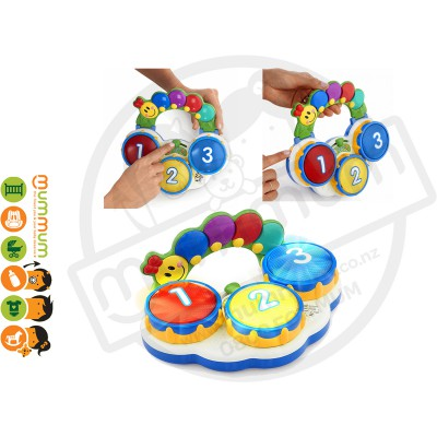 Baby Einstein Discovery Drums Musical Toy 3m+