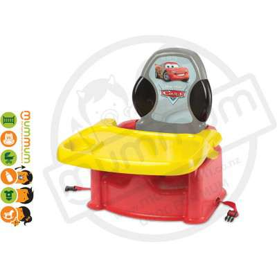 The First Years Disney Cars Feeding Booster Seat 6M+