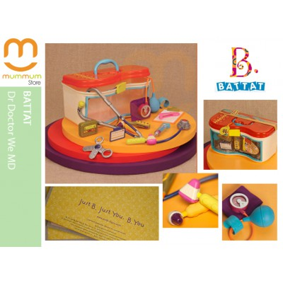 Battat Dr. Doctor We MD Pretend Play 14 Tools