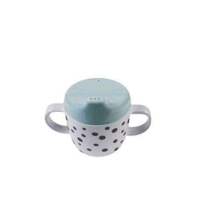 Done By Deer Happy Dots Spout Cup Blue