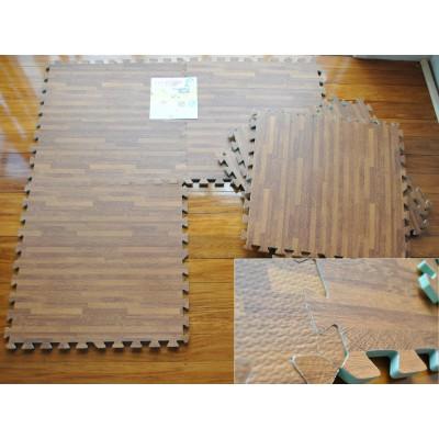 EVA Foam Mat Wooden Floor Print  120*180cm