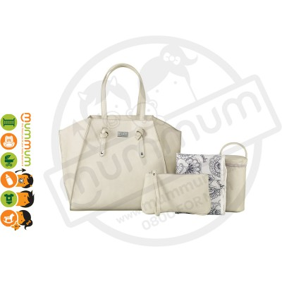 Isoki Easy Access Tote Bag - Brighton Ivory
