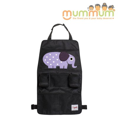 3 Sprouts Backseat Organizer Elephant