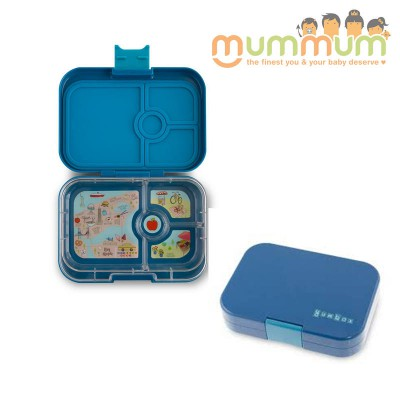 Yumbox Panino 4 Empire Blue Container for kids and adults