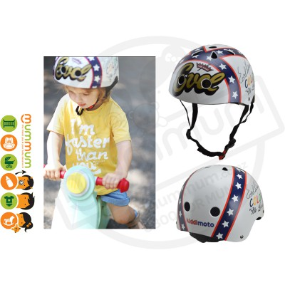 Kiddimoto Adjustable Evel Knievel Helmet