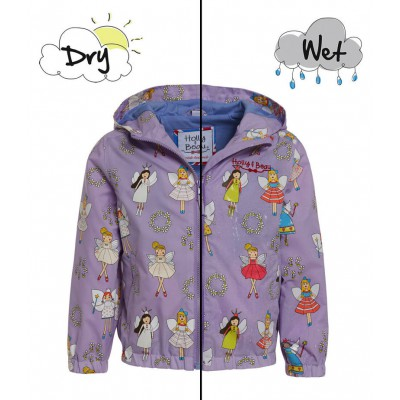 Holly and beau Raincoat Fairy Coloring Changing 2-8Y