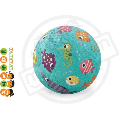 "Croc Creek 5"" Playground Ball Fish Design"