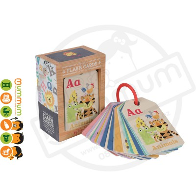 Tiger Tribe Flash Cards Animal ABC