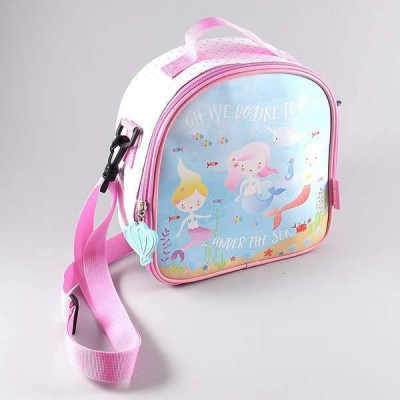 Floss & Rock Lunch Bag with Detachable Strap Mermaid
