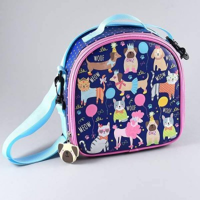Floss & Rock Lunch Bag with Detachable Strap Pets