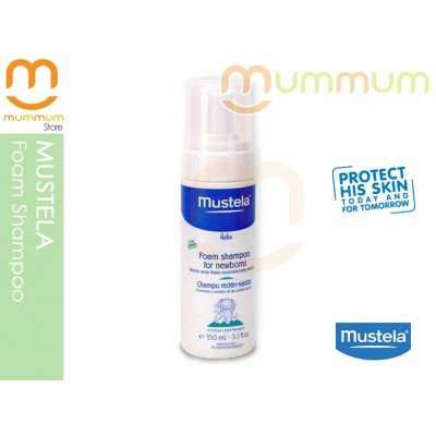 Mustela Foaming Shampoo for Cradle Cap Flakes150ml