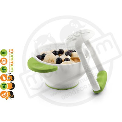 Nuk Food Masher & Serving Bowl BPA Free