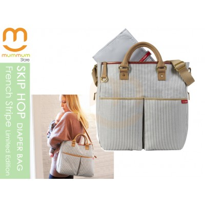 SKIP HOP DUO French Strip Diaper Bag Limited Edition