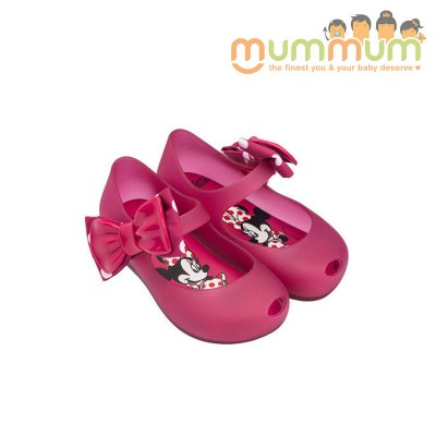 Mini Melissa UG Minnie Fuchsia Translucent 32377 US5-10