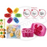 Funbites Food Cutter Cube It Hearts – Pink