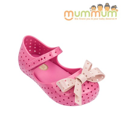 Mini Melissa 2018 furadinha pink gloss us6-10