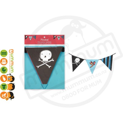 Garlands Decorative Flags Pirates Stock Clearance