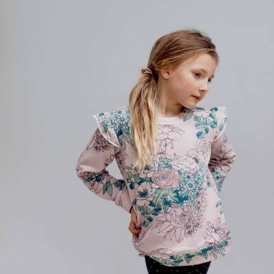 Burrow & Be Bouquet Flutter Jumper