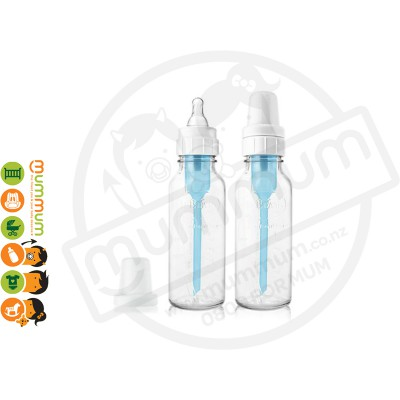 Dr.Brown Glass Bottle Reduce Colic Venting Best Bottle in the World 2packs 250ml