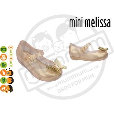 Mini Melissa Ultragirl Fly 19604 Gold Pearlescent
