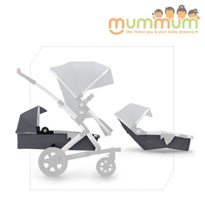 Joolz Geo2 Expandable Set Studio Graphite Include: lower bassinet,  lower seat