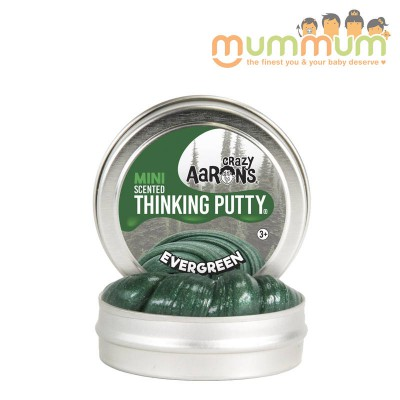 Crazy Aarons Thinking Putty Mini Scented Evergreen 0.47oz