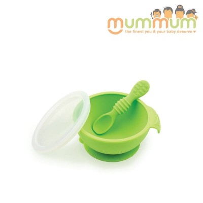 Bumkins First Feeding Set- Green