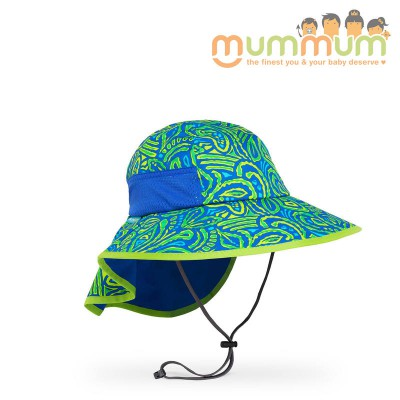 Sunday afternoon kids play hat green fossil M,L