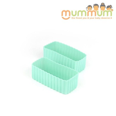 Little lunch box co cup rectangle green