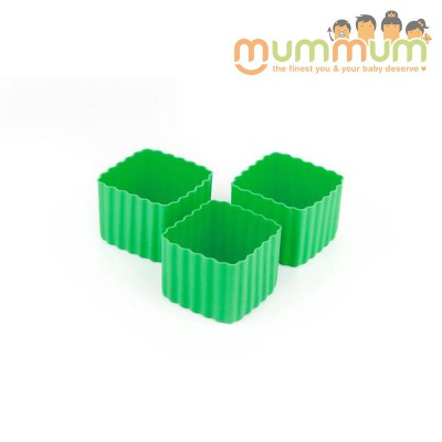 Little lunch box co cup sqaure green