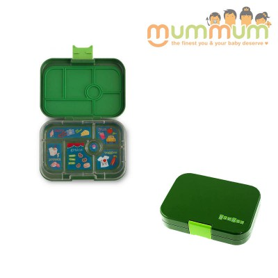 Yumbox 6 Compartments Brooklyn Green