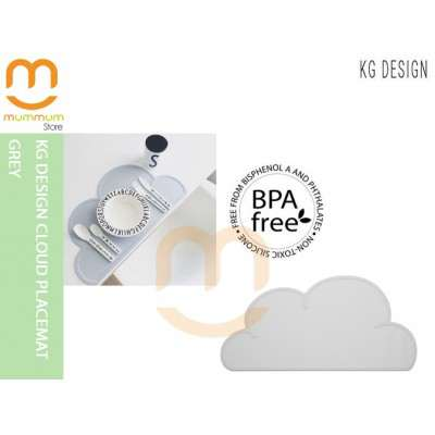 KG DESIGN CLOUD PLACEMAT Grey