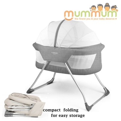 Sunbury Bassinet Cocoon Grey Melange