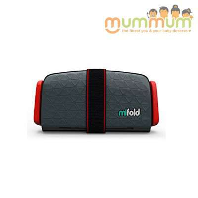 Mifold Travel booster Slate Grey 4+