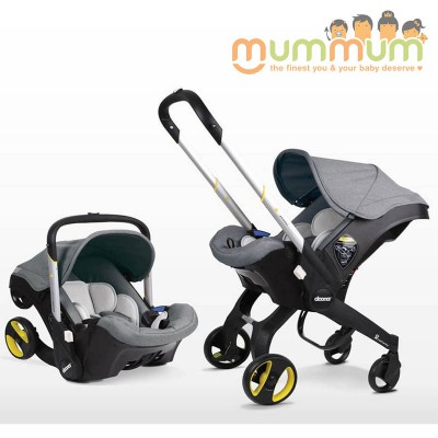 Doona Infant car seat Stroller All In One with Base- Grey