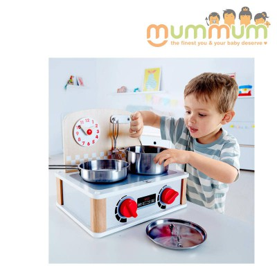 Hape 2 in 1 Kitchen and grill set